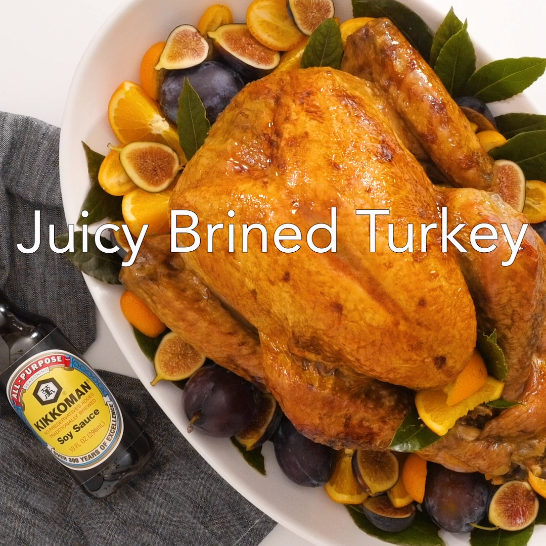 Juicy Brined Turkey -   19 thanksgiving recipes turkey easy ideas