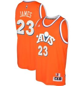 cheap for discount 83023 f61f9 adidas Men's Cleveland Cavaliers LeBron James #23 Alternate ...