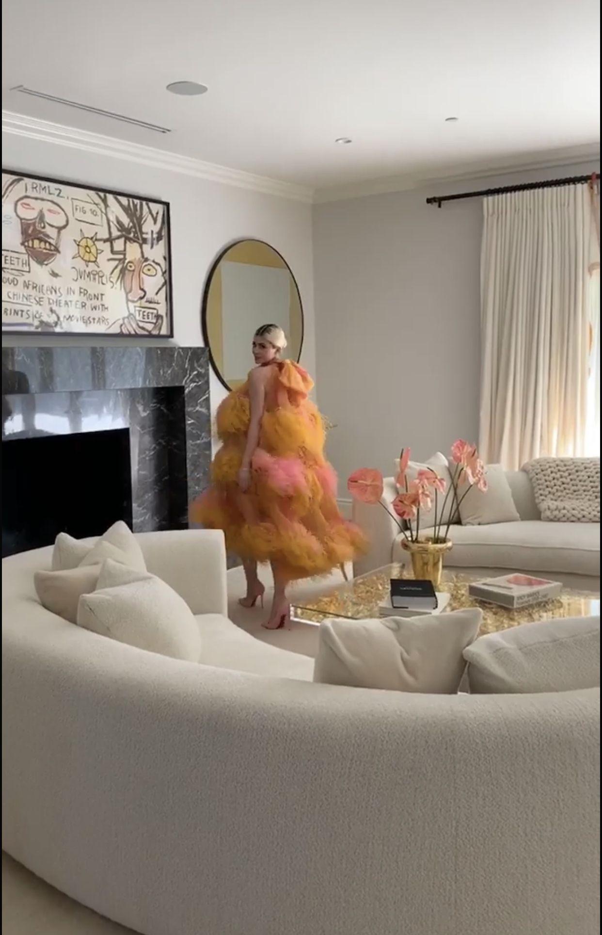 Kylie Jenner S Living Room Celebrity Houses Interior Home