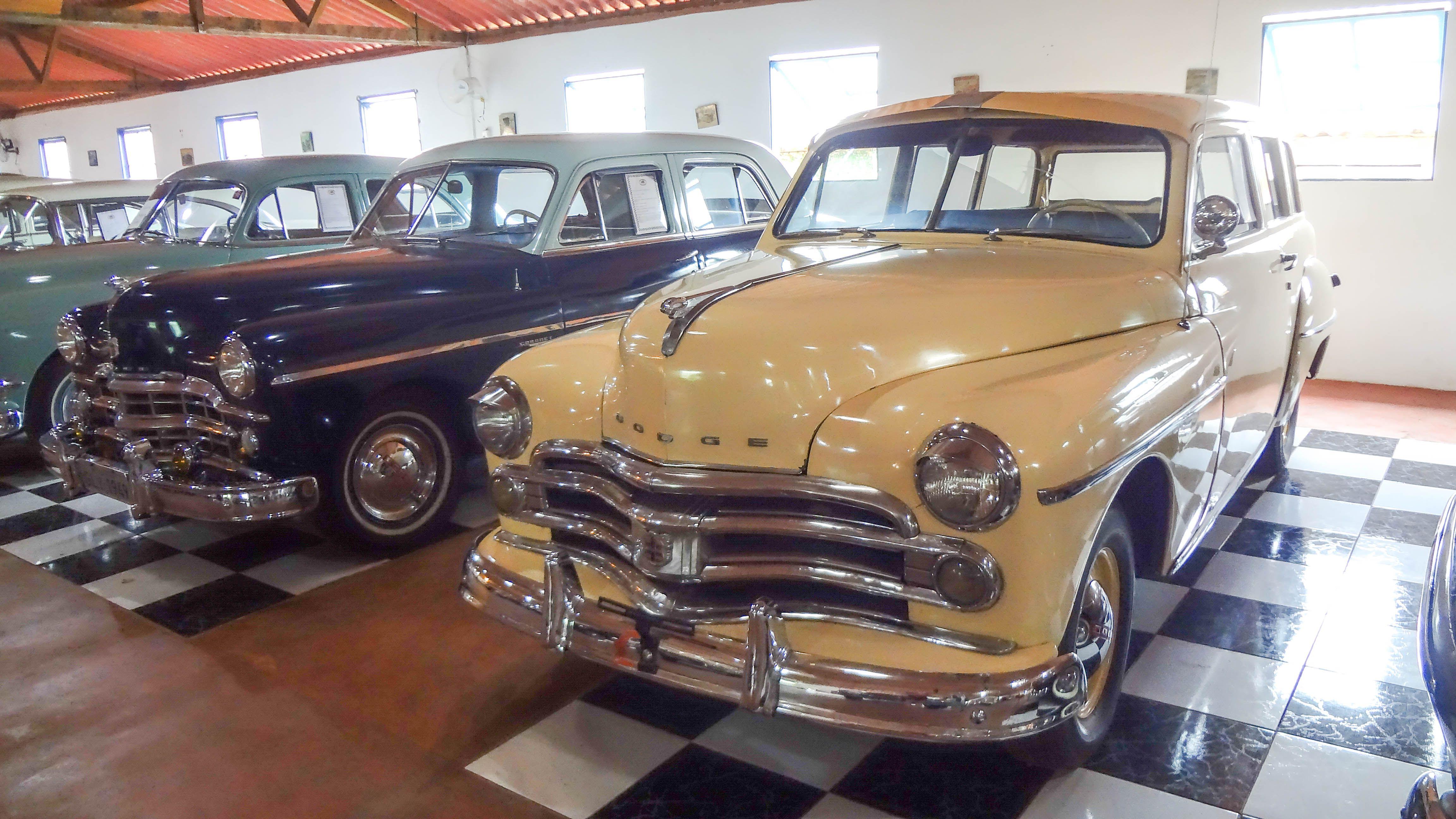 Dodge Utility Perua 1950 Usa O Museu Do Automovel Foi
