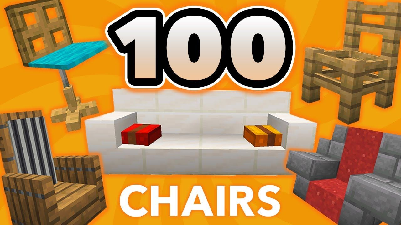 100 Minecraft Chair Ideas How To Build Furniture Designs In Minecraft Youtube In 2020 Diy Furniture Hacks Diy Furniture Cheap Diy Furniture Renovation