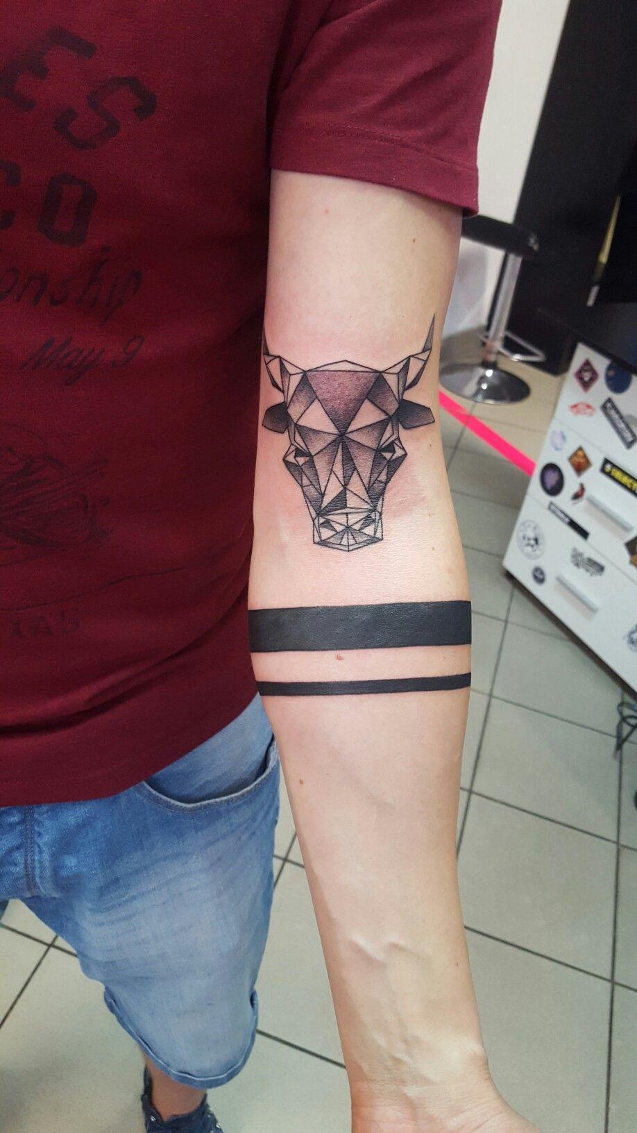 Geometric Bull Tattoo Ideas Taurus Tattoos Bull Tattoos Tattoos