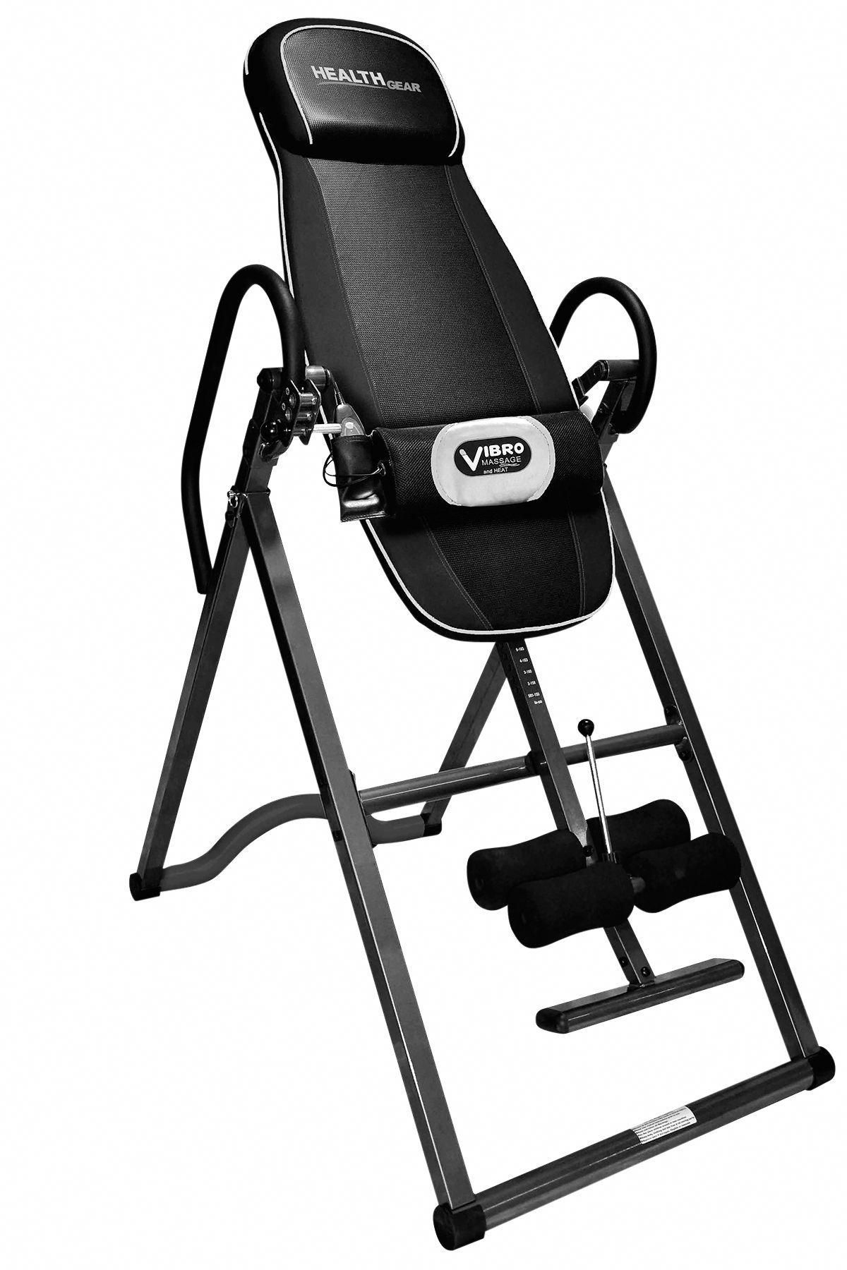 Health gear itm 4800a deluxe heat and massage inversion