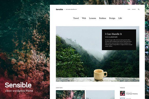 Sensible - WordPress Theme | Wordpress