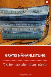 Photo of Nähen von Taschen aus alten Jeans # Mode #Stil #Stylish #Liebe #Nied #Foto des Tages