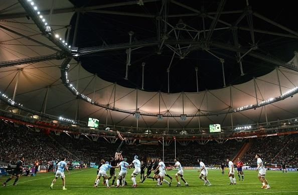 The stunning Estadio Ciudad de La Plata #ARGvNZL @AllBlacks v @unionargentina pic.twitter.com/7SPCkvWj92