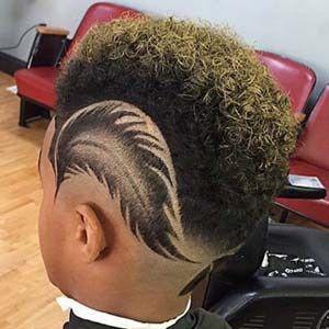 16 Epic Fade Haircut Designs For Boys Natural Hair Kids Shaved Hair Designs Haircut Designs Hair Styles