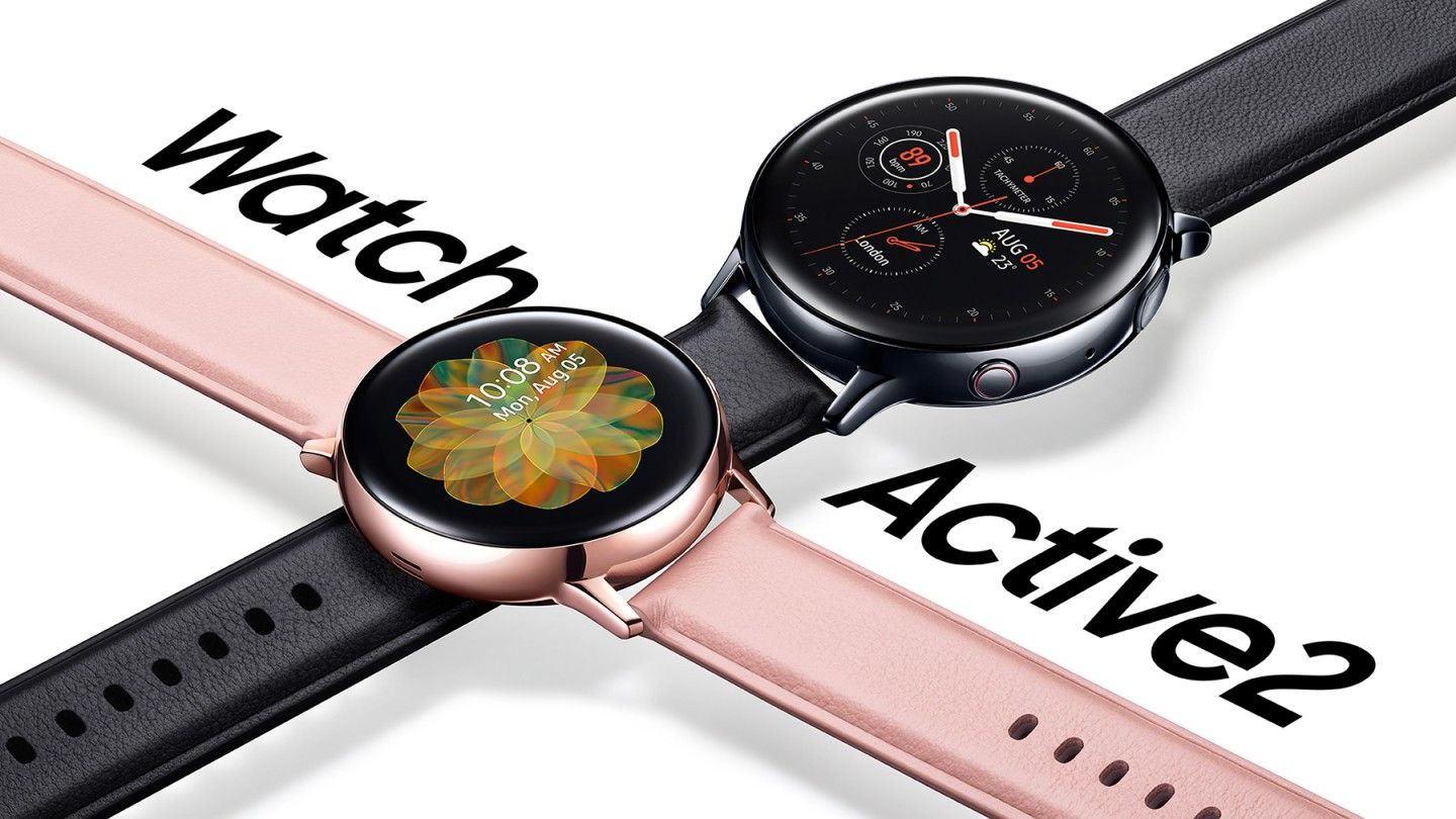 Samsung Launches The Galaxy Watch Active2 Smartwatch With A Touch Bezel And Lte Smart Watch Samsung Watches Samsung