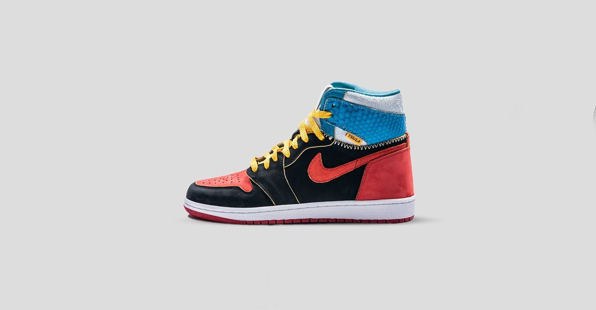 new product f5eec 220a9 Introducing the UNC Bred Lux Union Air Jordan 1. Every pair is handcrafted  to
