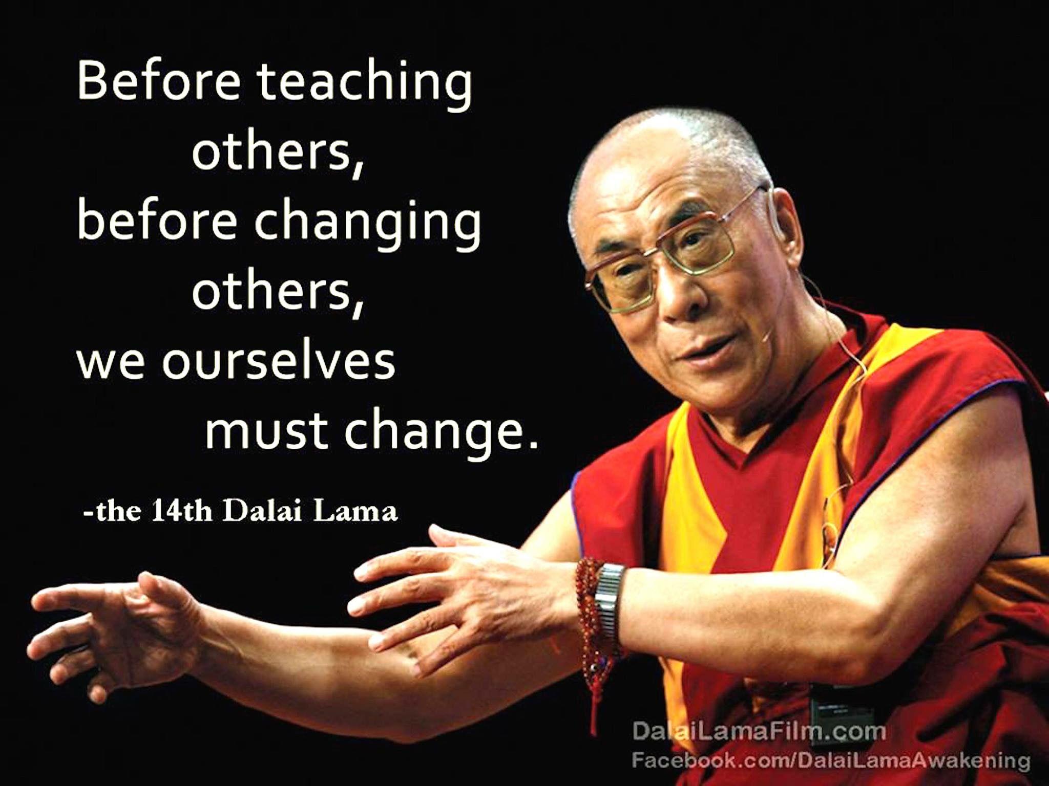 Dalai Lama Quotes On Man