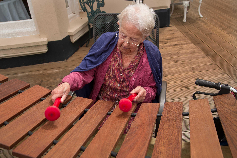 chair games for seniors antique wooden chairs pin od marta bielak na senior sensory garden dementia i