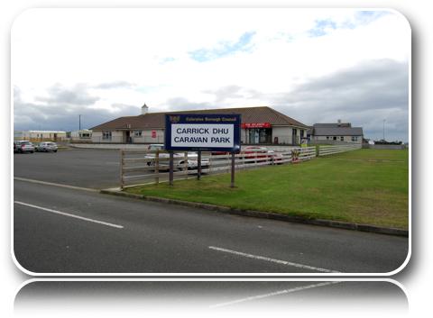 Carrick Dhu Caravan Park Portrush County Antrim