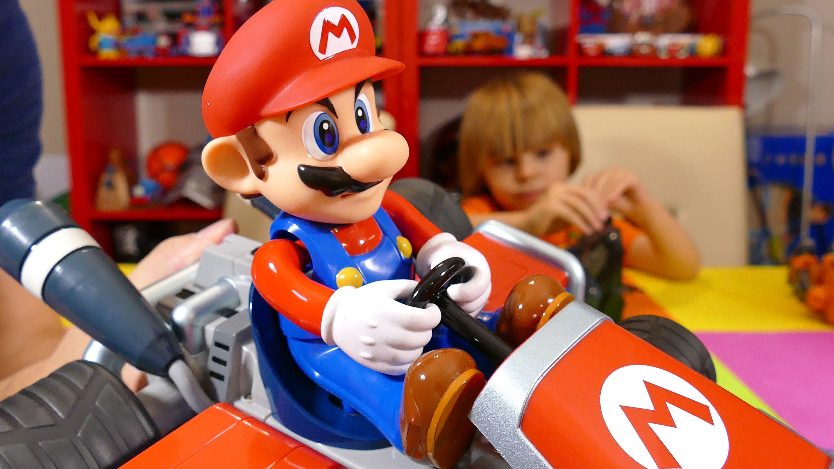 Mario Kart Remote Control Car By Carrera Rc Kid Toys Are Fun Toy Cars Kid Toys Cool Toys Toy Car