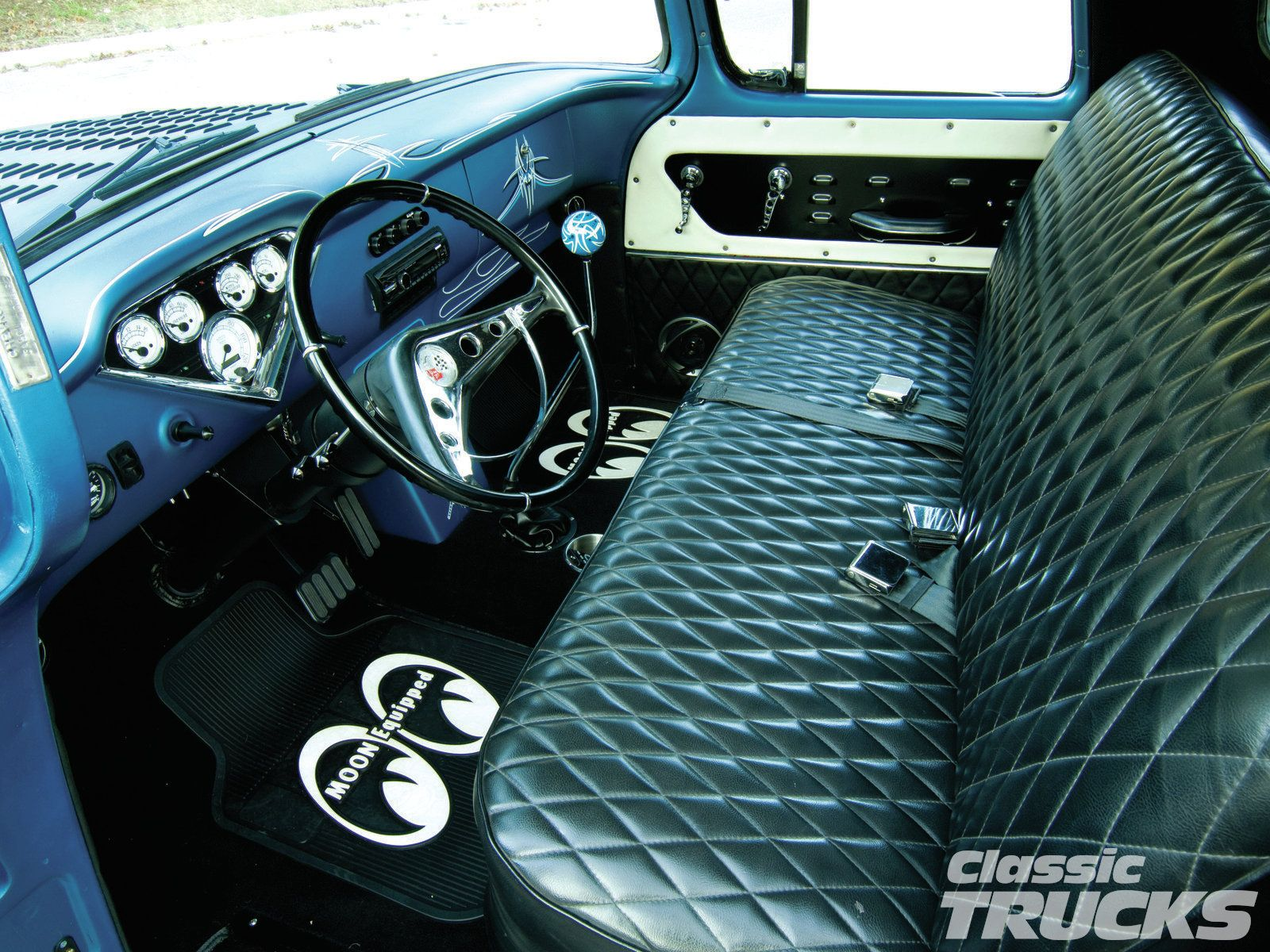 1956 Chevrolet Panel Truck Interior Dashboard Pictures To Pin On 1956 Chevy Truck Interior Parts Freshittips Truck Interior 1956 Chevy Truck Chevy Trucks