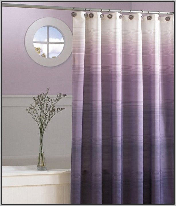 Grey And Purple Curtains Uk With Images Purple Shower Curtain Modern Shower Curtains Purple Ombre Shower Curtain