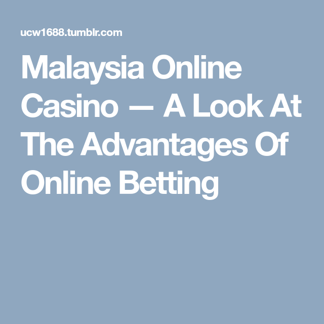 Disadvantages of betting online sports betting best deposit