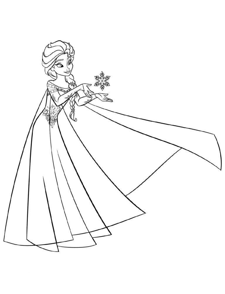 Color Elsa Games