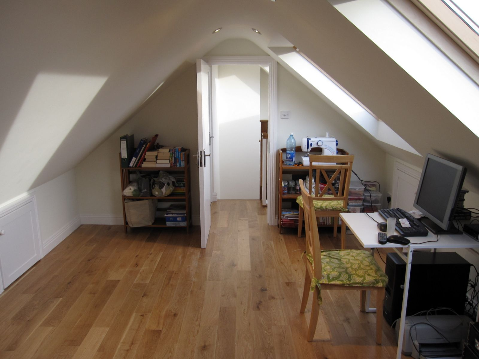 Our Services Attic conversion before and after, Attic