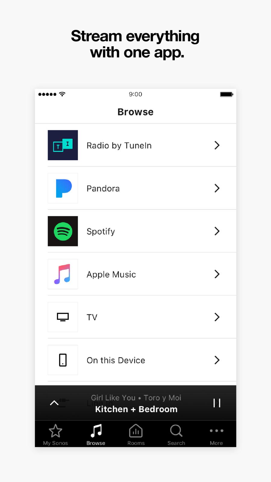Sonos Controller iosappsappEntertainment Sonos