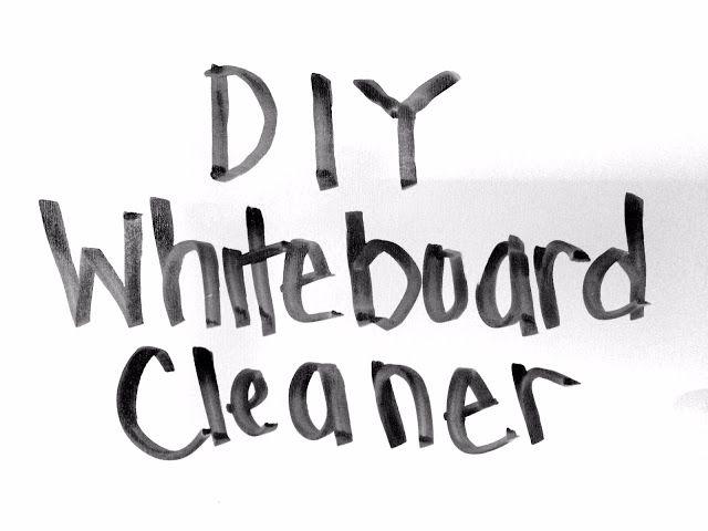 Diy Whiteboard Cleaner Lou Lou Girls Diy Whiteboard Diy Dry Erase Board White Board