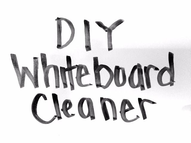 Diy Whiteboard Cleaner Diy Whiteboard White Board Cleaner