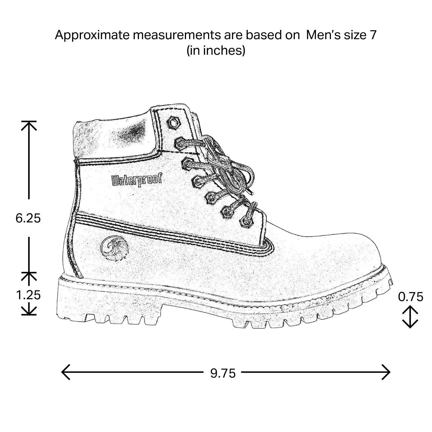 Men's Water Proof Work Boots Ankle