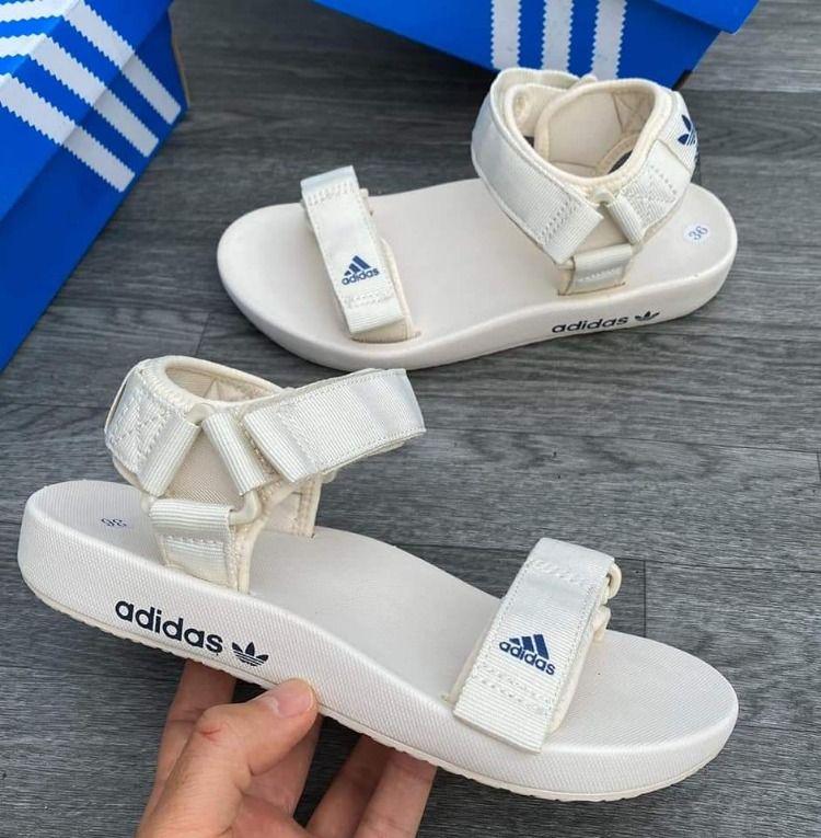 sandalias adidas mujer blancas en 2020   Sandalias adidas ...