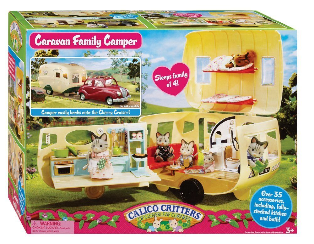 Calico Critters Caravan Camper Calico critters families