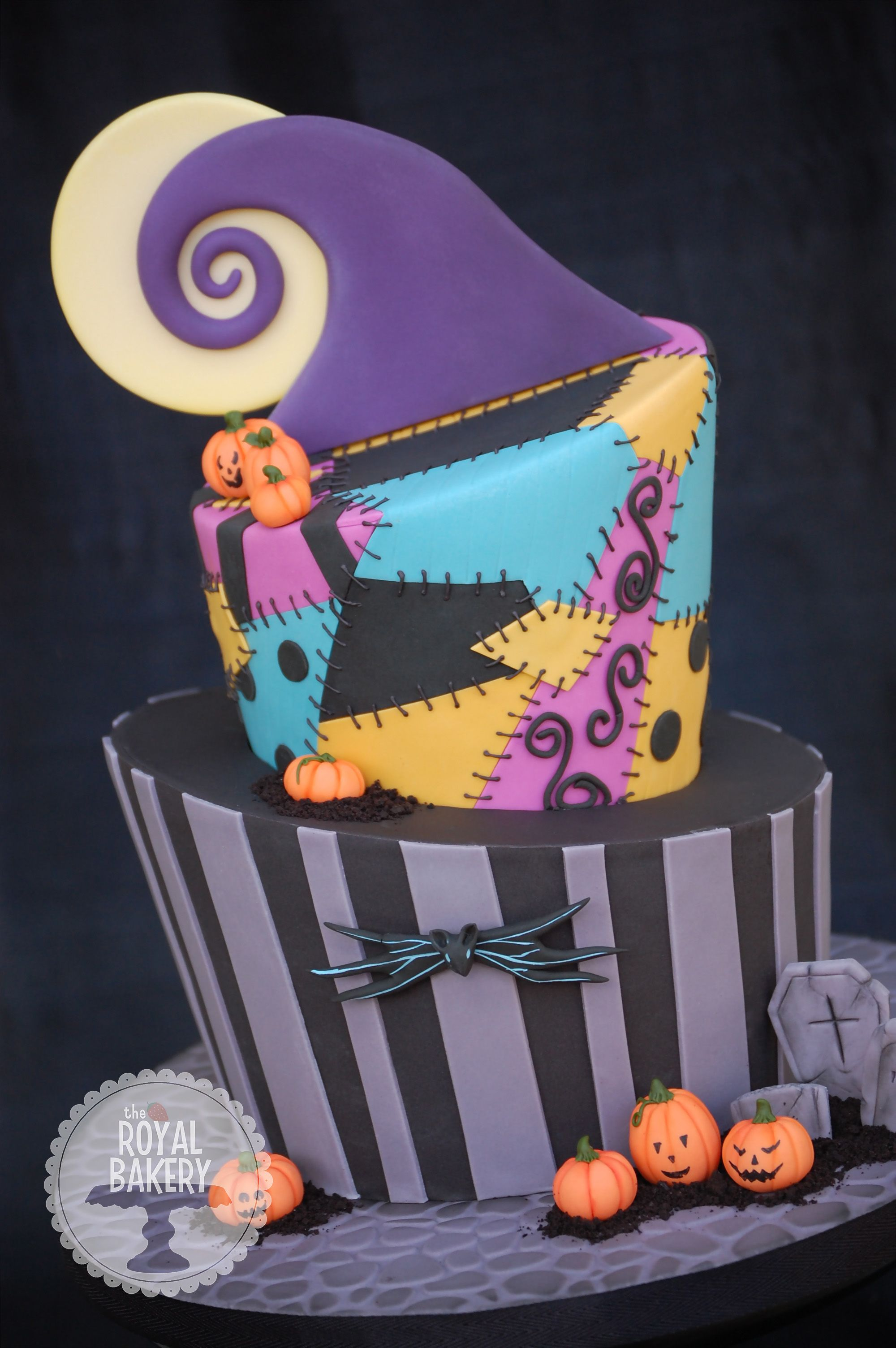 Birthday Cake Photos   A Nightmare Before Christmas Birthday Cake.