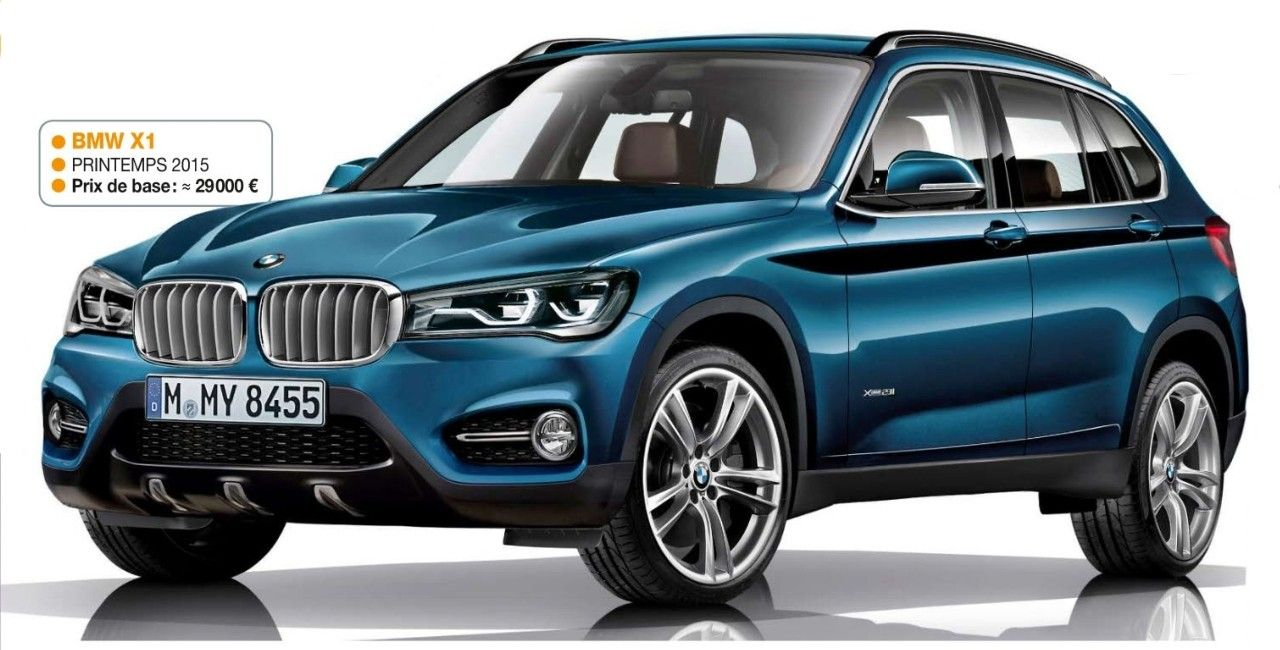 2016 Bmw X1 Rendering Photo Bmw Pinterest Bmw Lamborghini And