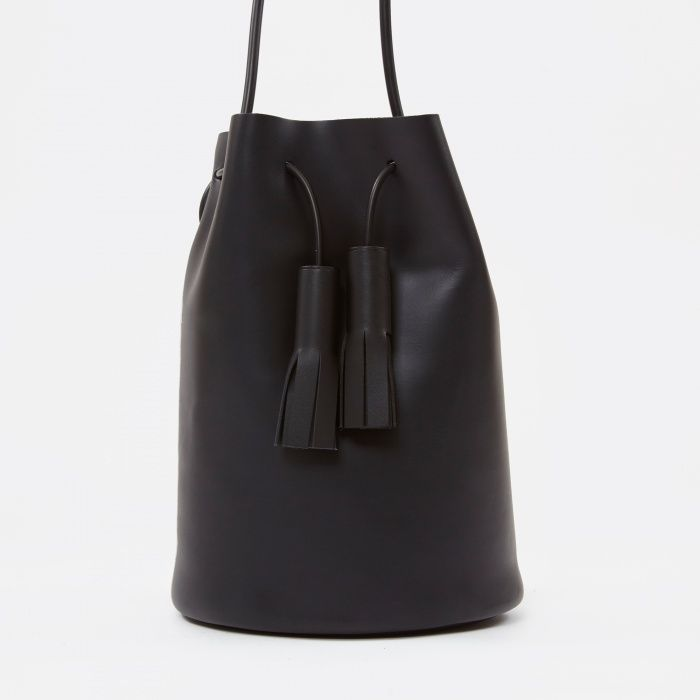 Building Block Bucket Bag Black Image 1