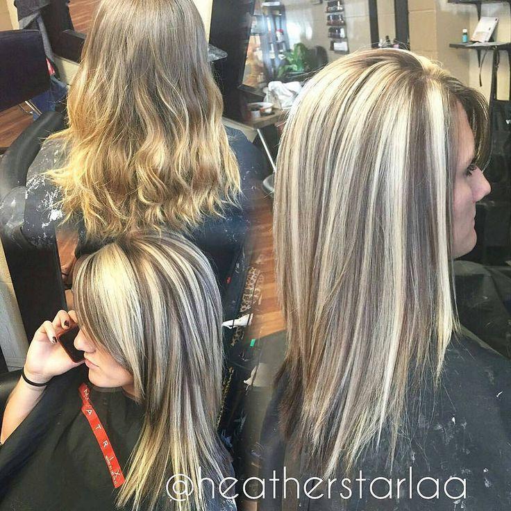 Heavy blonde highlight with a dark brown lowlight and undeu2026 | Flickr & Heavy blonde highlight with a dark brown lowlight and underneath ... azcodes.com