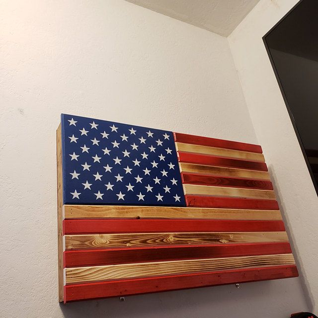 Distressed RWB or Black &Burnt concealment flag