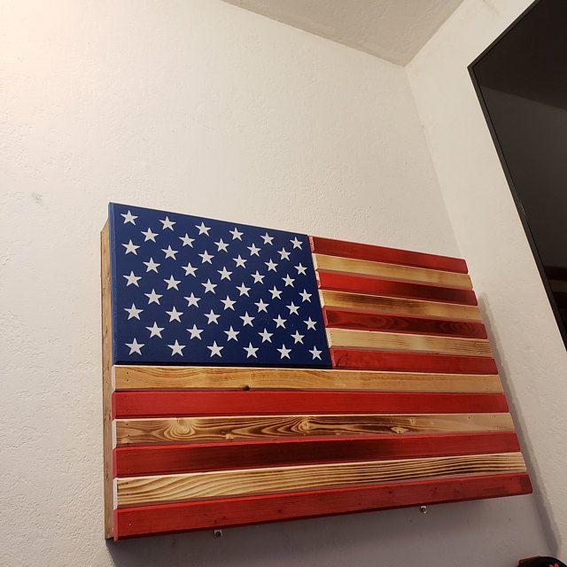 Distressed RWB or Black &Burnt concealment flag