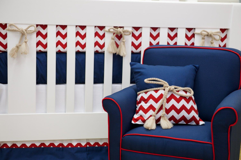 Patriotic Crib Bedding Google Search Nautical Nursery Baby Boy Navy