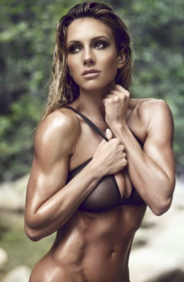 Sexy action shots of some of the world's hottest female