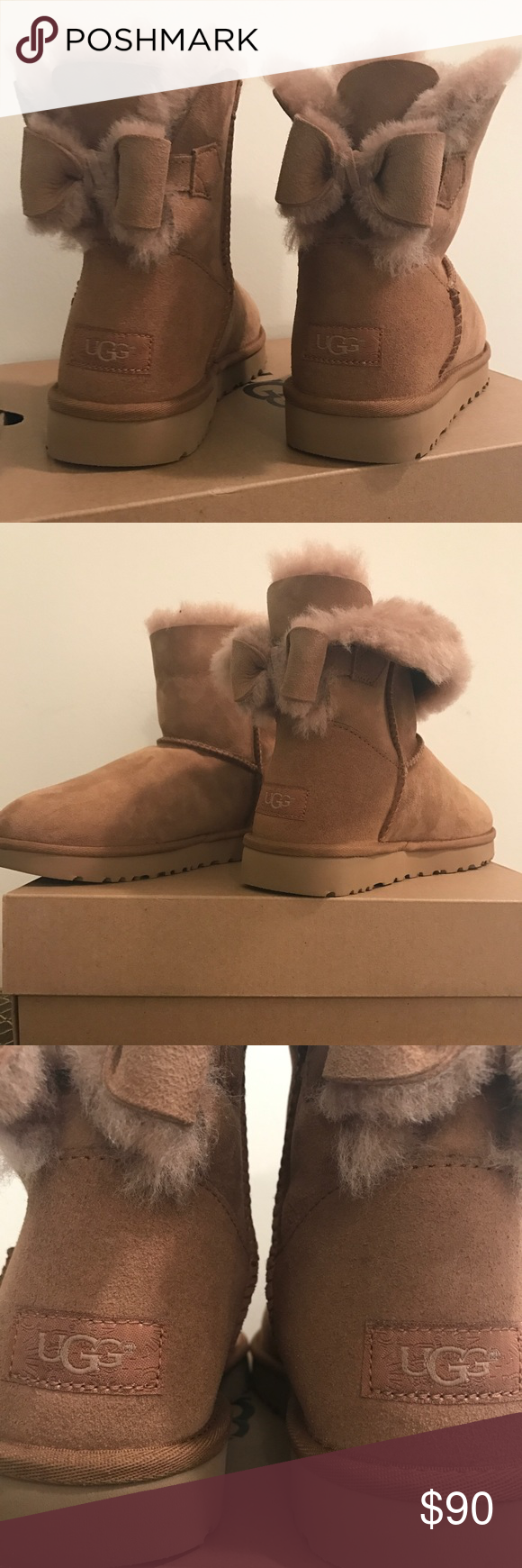 0e3a0a7e530 Lil Bow Ugg Boots NWT Brand New Ugg boogie with cute bow detail ...