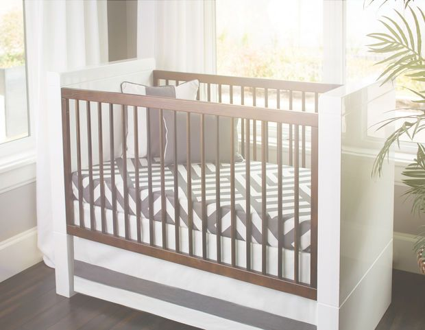 Zara Crib Sheet - Pewter | Joint: Family | Pinterest