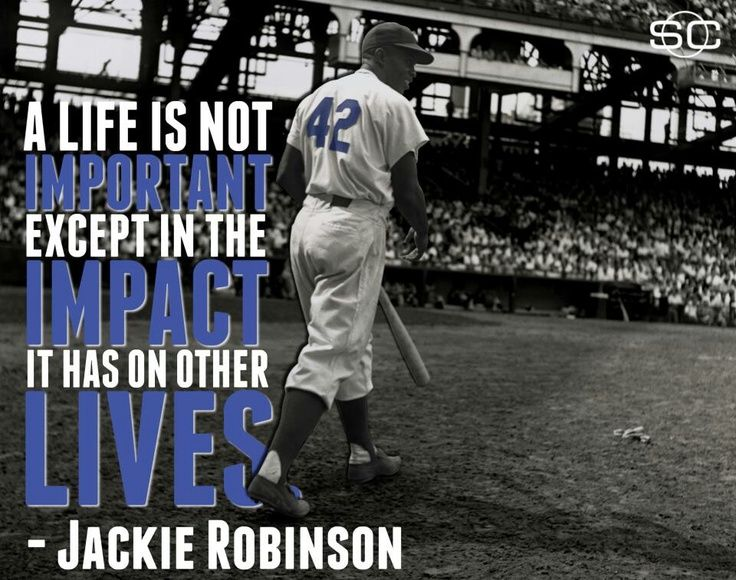 Jackie Robinson Quotes Jackie Robinson Quote  Google Search  Quotes  Pinterest  Jackie
