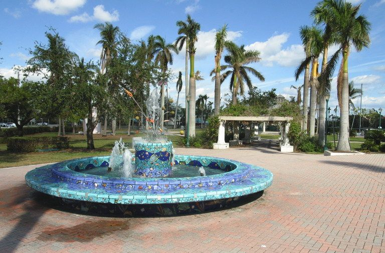 Fountain By Carlos Alves On Mosaic