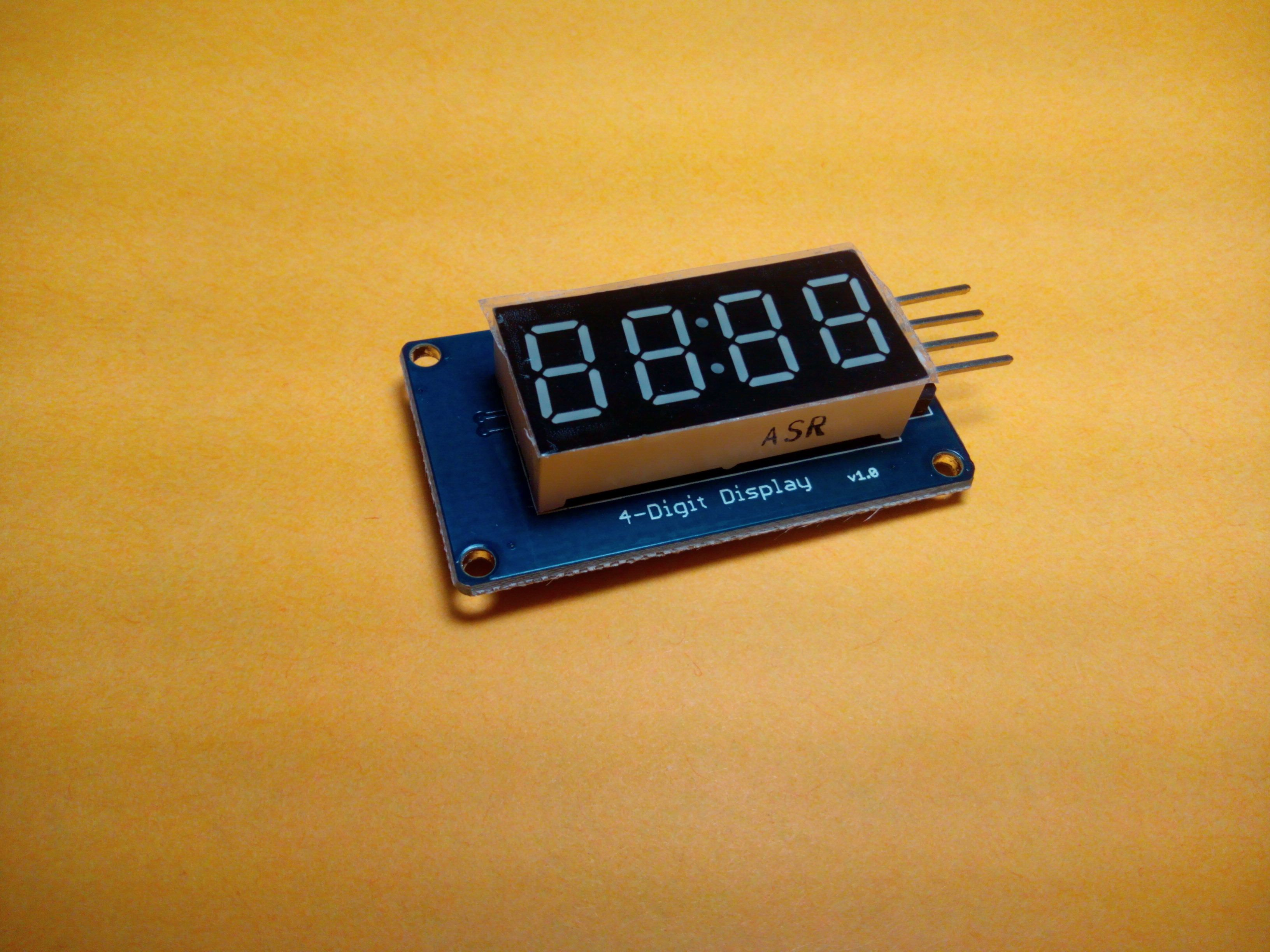 Arduino 7 Segment Led Display Tutorial Tm1637 4 Digit Technology Digital Clock Circuit Diagram In This Detailed With Example Codes We Will Exactly Program The Same Thing