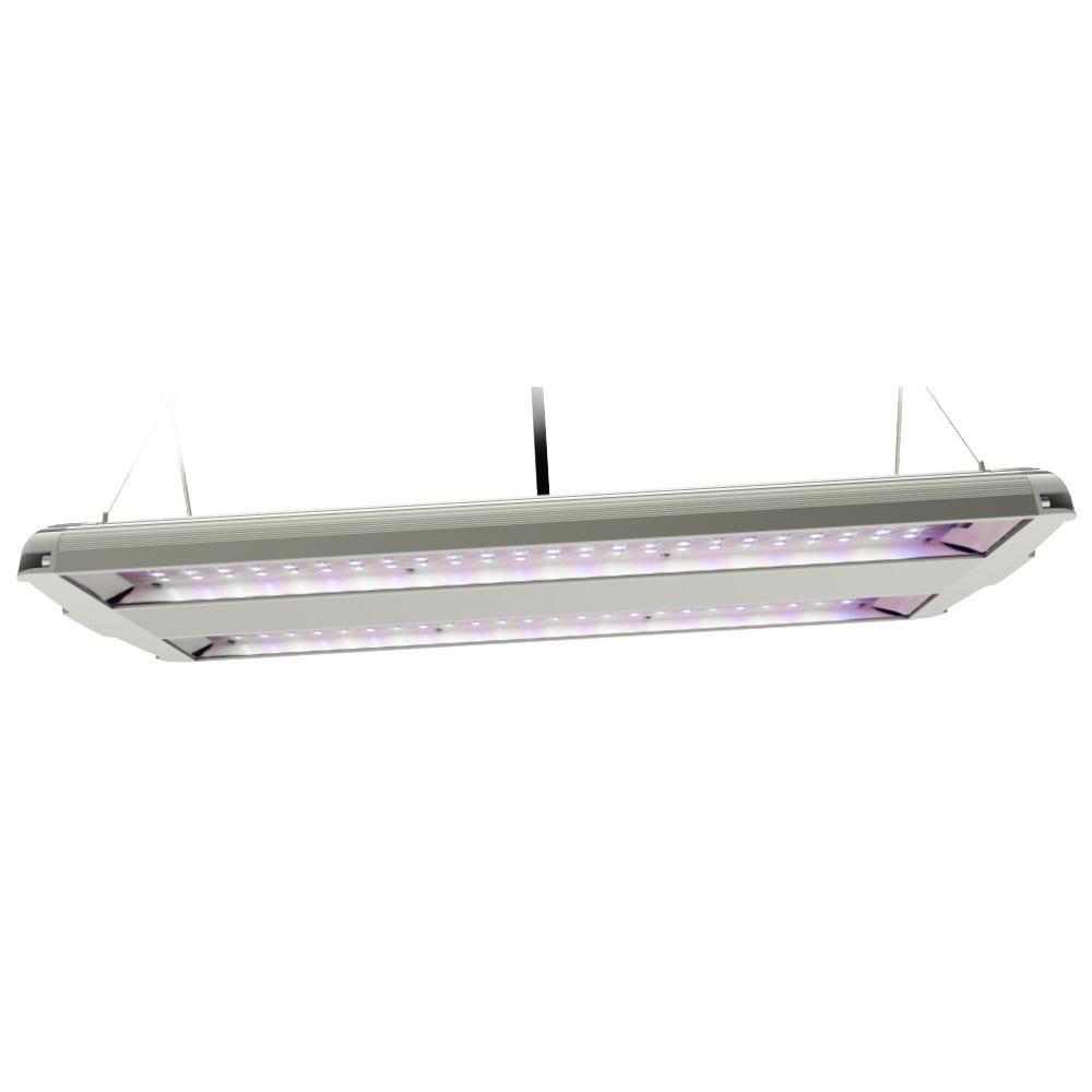 14 in. 82-Watt Integrated LED Full Spectrum High Bay Plant Grow ...