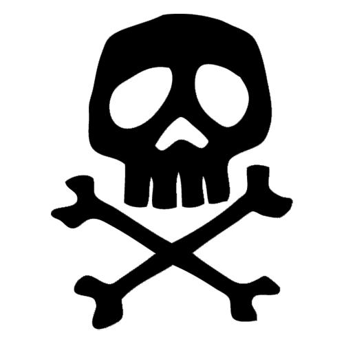 Decals Stickers Vinyl Decals Car Decals Captain Harlock Harlock Space Pirate Skull Decal