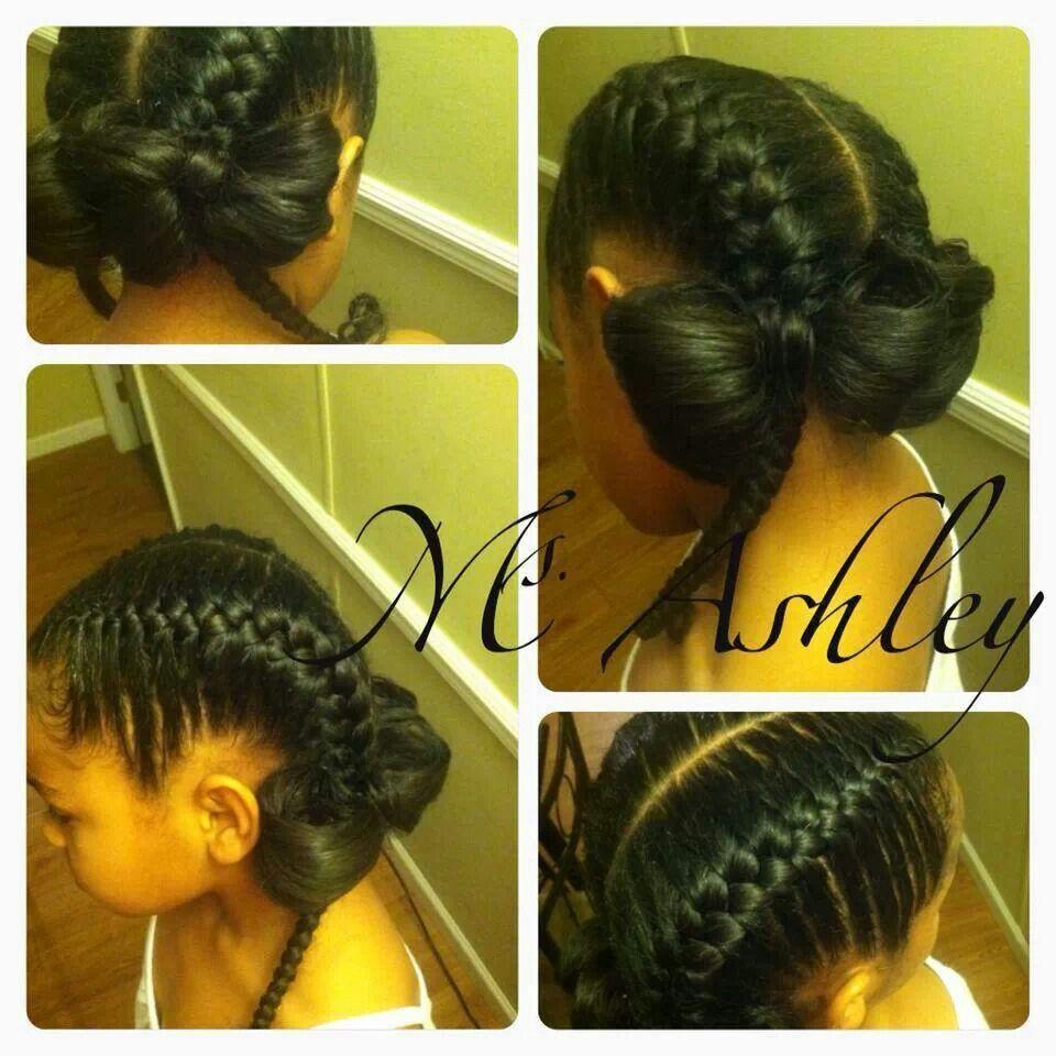 Cute bow braids hair braids etc pinterest bow braid girl
