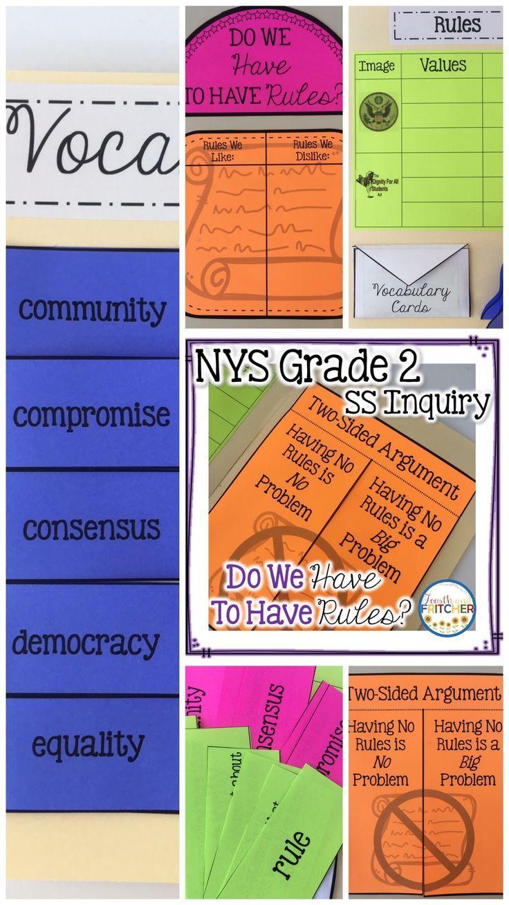 NYS Grade 2 Social Studies Inquiry Civic Ideals and