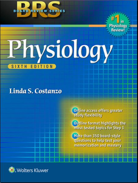 Brs Physiology 6th Edition 2014 Pdf Linda S Costanzo