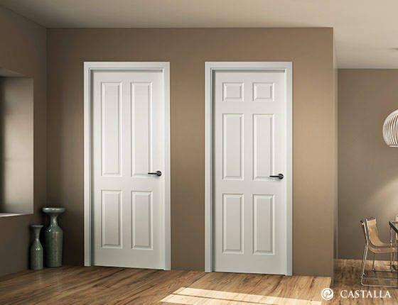 Puerta calamis y miron serie lacada puertas interiores - Puertas correderas bricomart ...