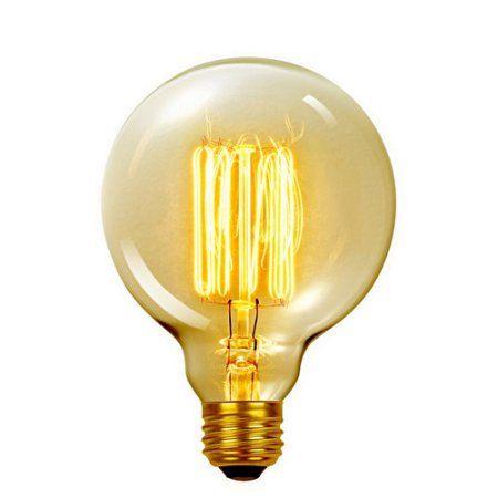 Household Essentials Edison Light Bulbs Vanity Light Bulbs