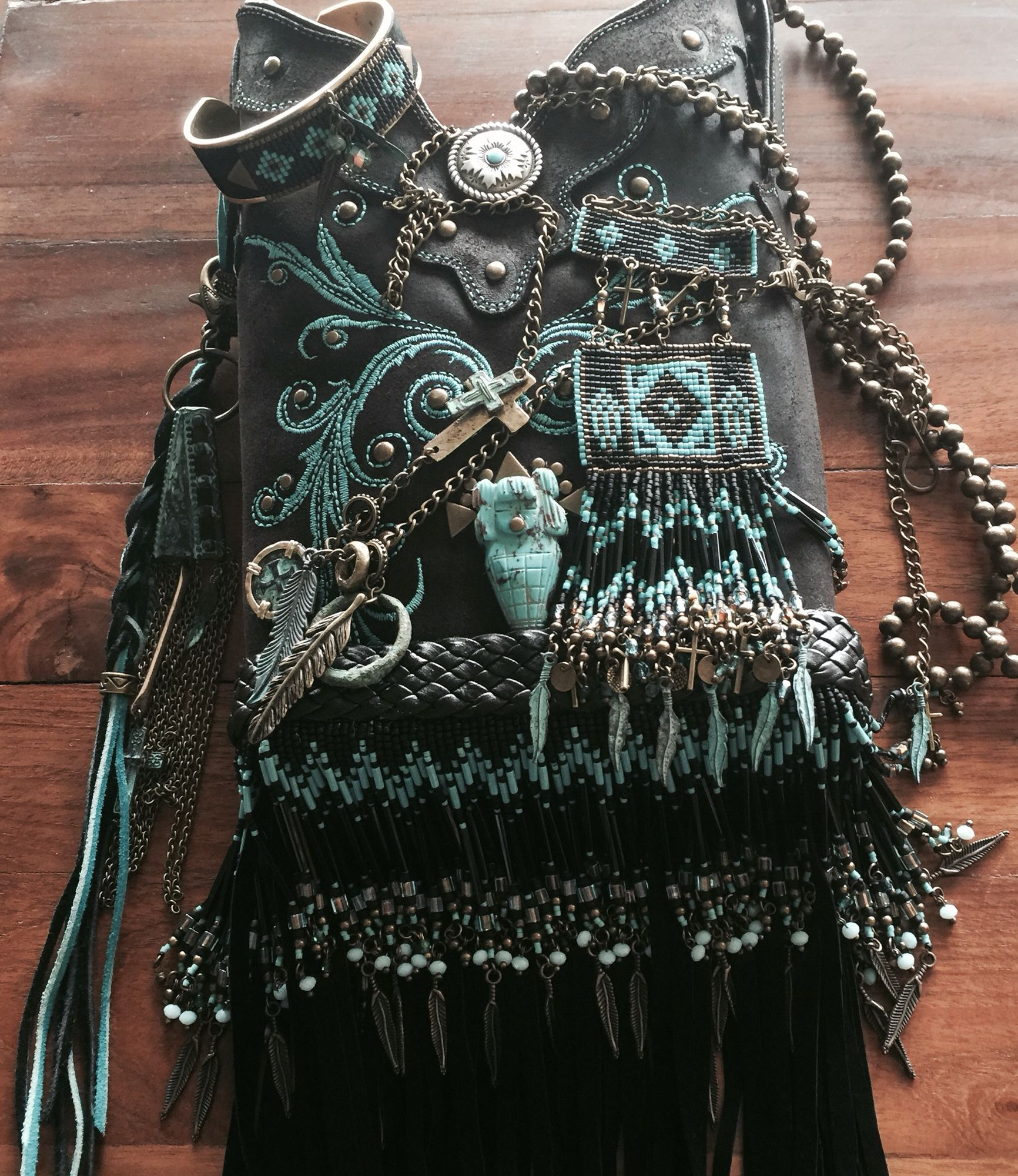The original altered cowboy boot top purse from Debi Lynn Designs since 1994! Trademark copyright protected