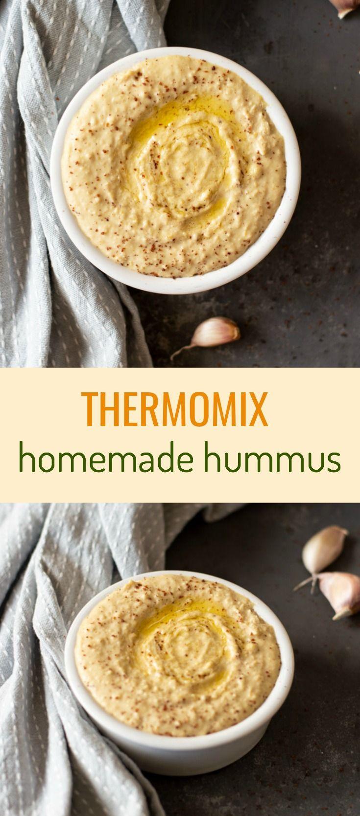 Thermomix Classic Hummus | Thermomix Diva